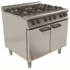 Falcon G3101 dominator plus gas six burner range