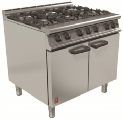 Falcon Dominator G3101 gas six burner range